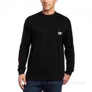 Caterpillar Men's Trademark Pocket Long Sleeve T-Shirt (Regular and Big & Tall Sizes)
