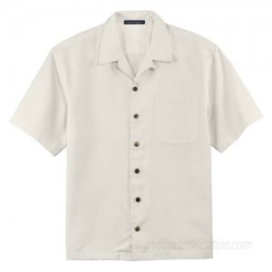 Port Authority Easy Care Camp Shirt  Ivory