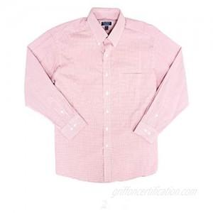 Club Room Mens Regular Fit Mini Gingham Dress Shirt