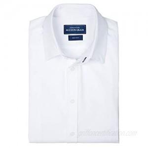 Mizzen + Main Leeward Formal Mens Standard Fit Button Down Stretch Dress Shirt