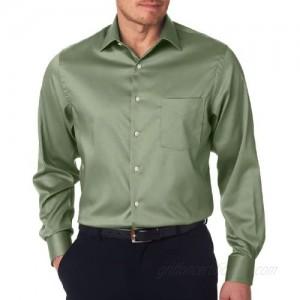 Van Heusen Men's Solid Stylish Woven Shirt  Sage  X-Large