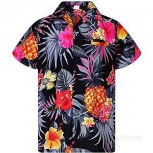 Short Sleeve Hawaiian TShirt for Men Vintage Print Shirt Casual Button Up Cotton Linen Tee Ethnic Loose Beach Top Blouse