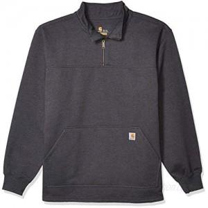 Carhartt Men's Big and Tall Big & Tall Rain Defender Paxton Quarter-Zip Sweatshirt