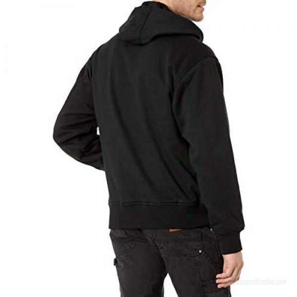 Key Industries Men's Big and Tall Heavy Weight Thermal Lined Zippered Sweatshirt