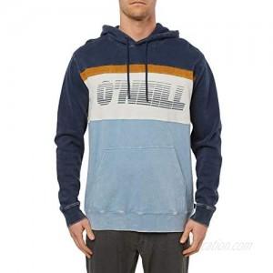 O'NEILL Men's Classic Pullover Sweatshirt Hoodie (Navy/Ripples S)