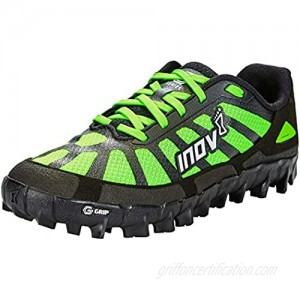 Inov-8 Womens Mudclaw G 260 V2 Trail Running Shoes - Ultra -Durable & Breathable Perfect for Obstacle Course Races - Black/Green - 9