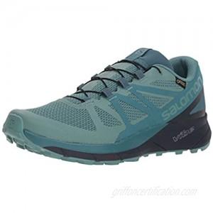 Salomon Women's Sense Ride GTX Invisible Fit Trail Running Shoes