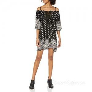 Angie Women's Cold Shoulder Dress