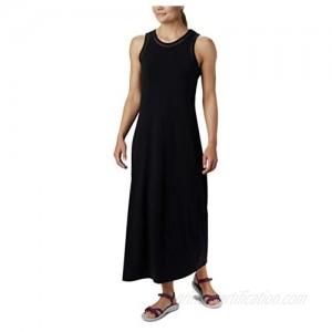 Columbia Women's Slack Water Knit Maxi Dress  Moisture Wicking  Sun Protection