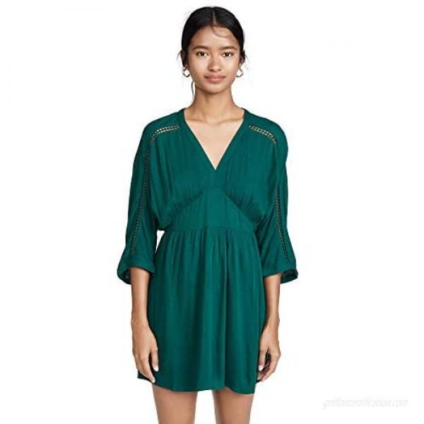 Jack Women's Wishful Thinking Crinkle Rayon Dolman Sleeve Dress