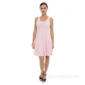 Lunarable Women's Sleeveless Racerback A Line Summer Dress