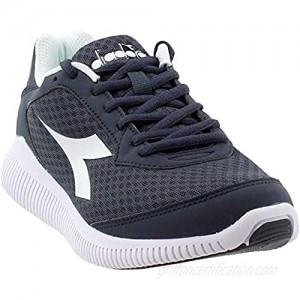 Diadora Womens Eagle Running Sneakers Shoes - Black