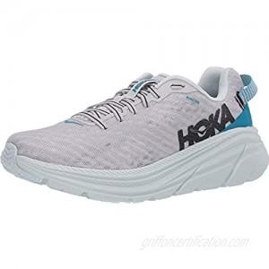 HOKA ONE ONE Rincon Women's 6 Running Shoes Lunar Rock/Nimbus Cloud 6 US