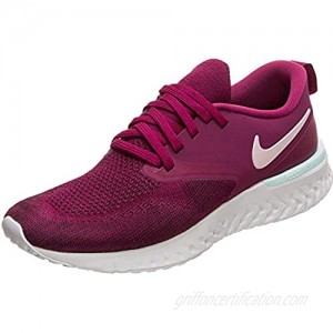 Nike Womens Odyssey React 2 Flyknit Fitness Performance Running Shoes