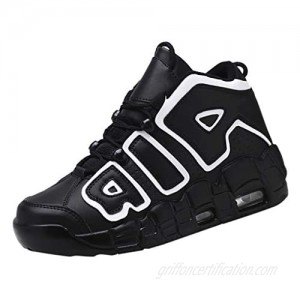 Forthery Fashion Men's Casual Sports Shoes Comfortable Wear High Basketball Sneakers