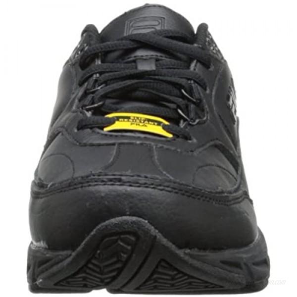 Fila Women's Memory Workshift Training Shoe Black/Black/Black 9 W US