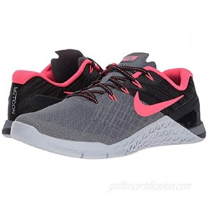 Nike Women's WMNS Metcon 3 Trainers (11.5 M US Cool Grey/Solar Red/Black)