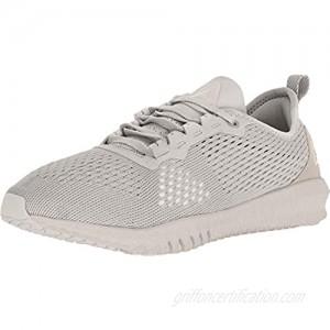 Reebok Women's Flexagon Moondust/Grey White Ankle-High Fabric Training Shoes - 8.5M
