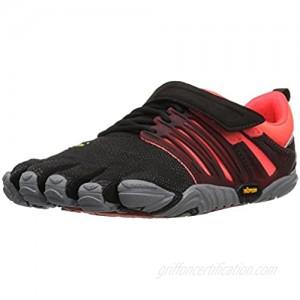 Vibram Women's V-Train Cross-Trainer Shoe  Black/Coral/Grey  36 EU/6 M US