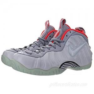Nike Men's Air Foamposite Pro PRM Basketball Shoes Sneakers (6.5  Pure Platinum/Pure Platinum - Wolf Grey - Bright)