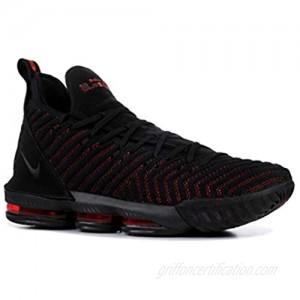 Nike Men's Lebron 16 Basketball Shoes (16  Black/Red)