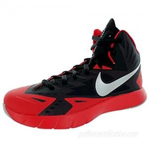 Nike Mens Lunar Hyperquickness Black/wolf Grey/universtiy Red Basketball