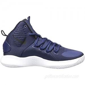 Nike New Hyperdunk X TB Navy/White/Black Men 9/Women 10.5 Basketball Shoes