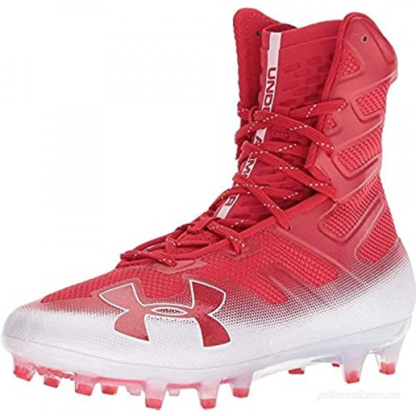 Under Armour UA Highlight MC Men's Red-White Football Cleats
