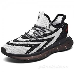 Ahico Men Fashion Sneaker Running Shoes Walking Athletic Casual Sports Indoor Outdoor Fitness Jogging Road Footwear