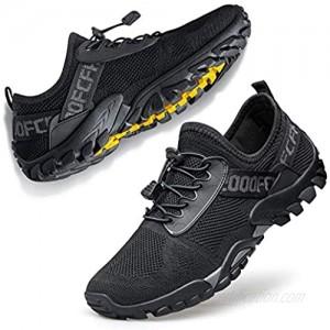 FANDEE Men's Minimalist Trail Runner | Athletic Walking Jogging Sneakers Minimalist Shoes