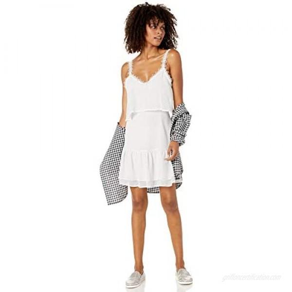 BB DAKOTA Women's Without a Dot Printed Chiffon Dress