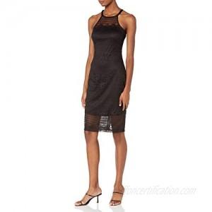GUESS Women's Lace Apron Dress