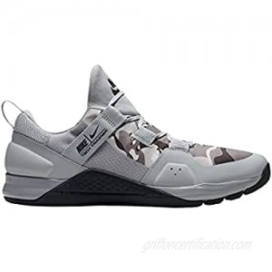 Nike Mens Tech Trainer Shoes  (Size 10.5  Wolf Grey/Anthracite-Cool Grey)