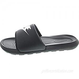 Nike Victori One Mens Comfort Slide Cn9675-003 (Black/White Numeric 12)