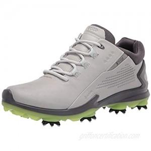 ECCO Men's Biom G 3 Gore-Tex Golf Shoe  Concrete  9-9.5