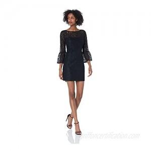 BB DAKOTA Women's Billie Lace Flutter Sleeve Dress