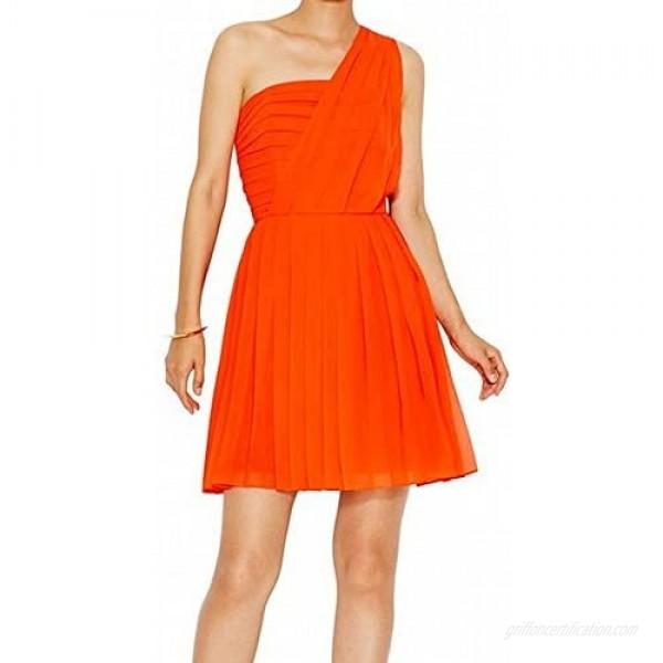 RACHEL Rachel Roy Women's Pleated One Shoulder Dress