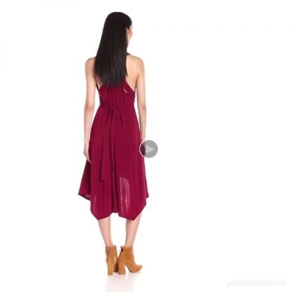 BCBGMax Azria Women's Dara V-Neck Dress
