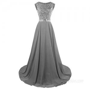 Fit Design Long Prom Dresses Cap Sleeve Wedding Bridesmaid Dress Evening Gowns